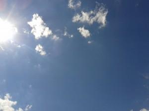 Sky sun.