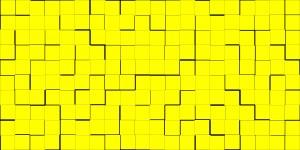 Puzzle yellow.